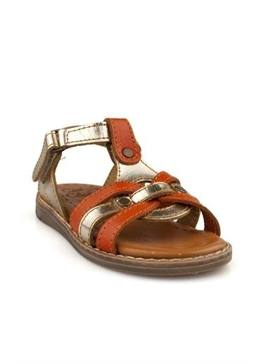 Cicibebe Kız Çocuk Sandalet Bronz